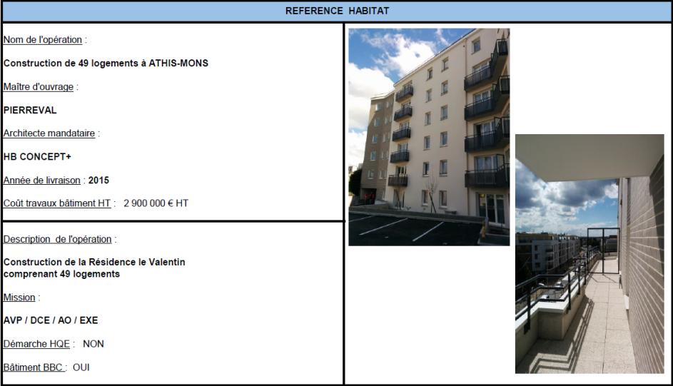 Construction de 49 logements à ATHIS-MONS