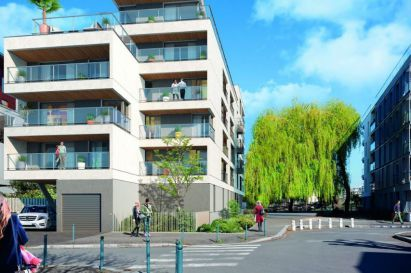 "Construction de 19 logements à Rennes ""Quai 19"""