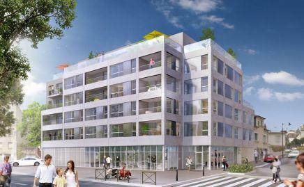 """Construction de 33 logements et 130 m² de commerce à Rennes """" Ducoudray """""""