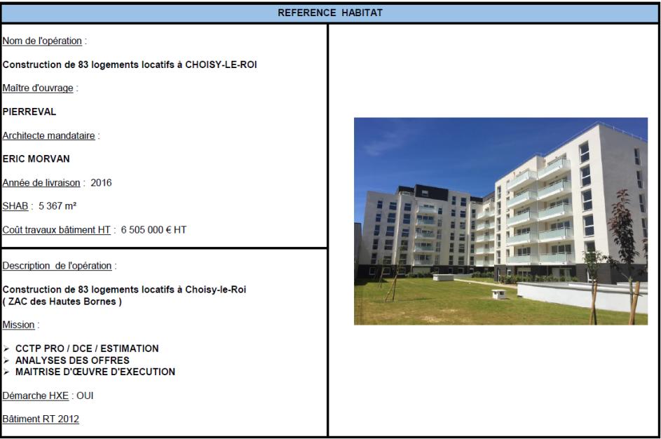 Construction de 83 logements locatifs à CHOISY-LE-ROI