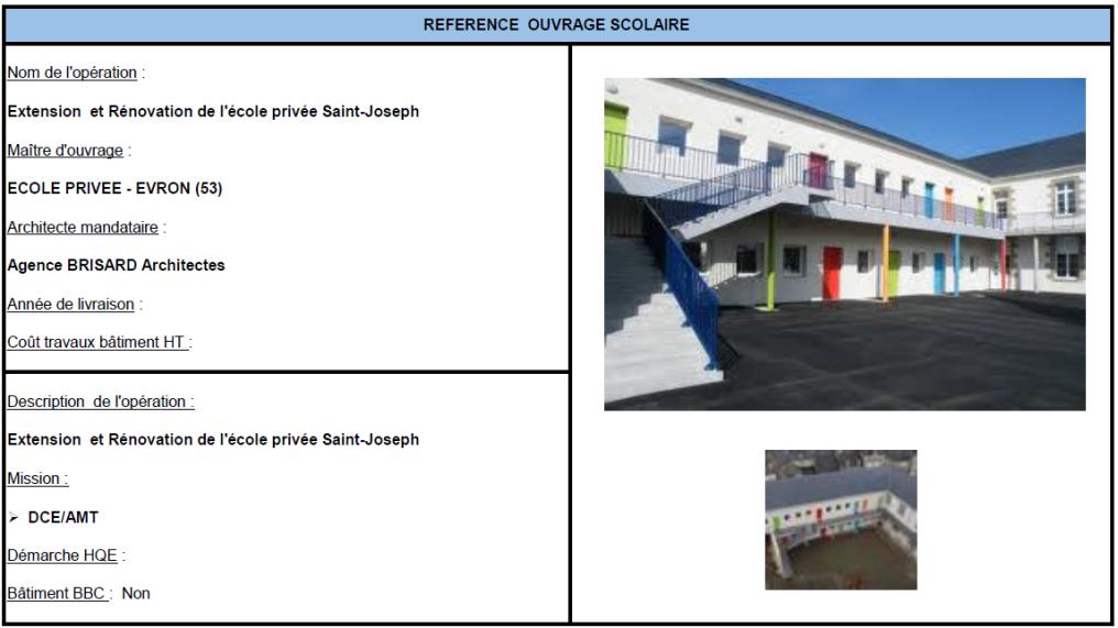 Extension et rénovation de l'école privée Saint-Joseph