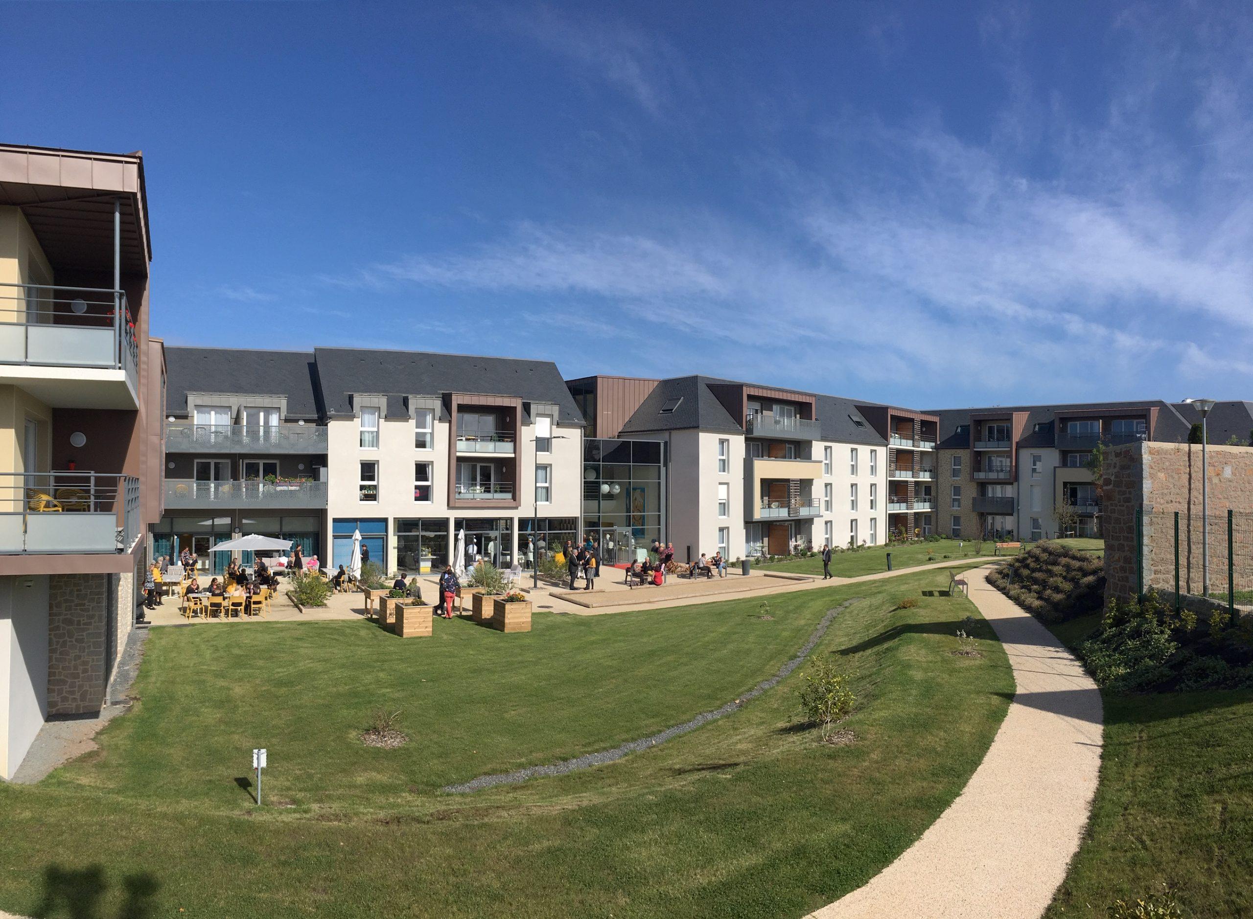 """Construction de 121 logements à Perros-Guirec """" les Mégalithes Roses"""""""