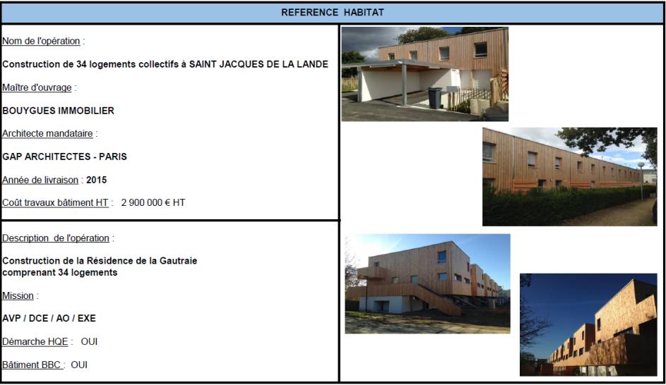Construction de 34 logements collectifs à Saint Jacques De La Lande