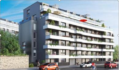 """Constrution de 81 logements à Rennes """"les Terrasses de Jeanne"""""""