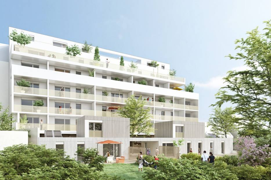 """Construction de 29 Logements à Rennes """" Néocity """""""