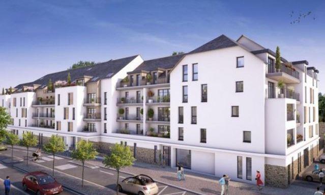 """Construction de 76 logements à Quimper """" Esprit Ville """""""