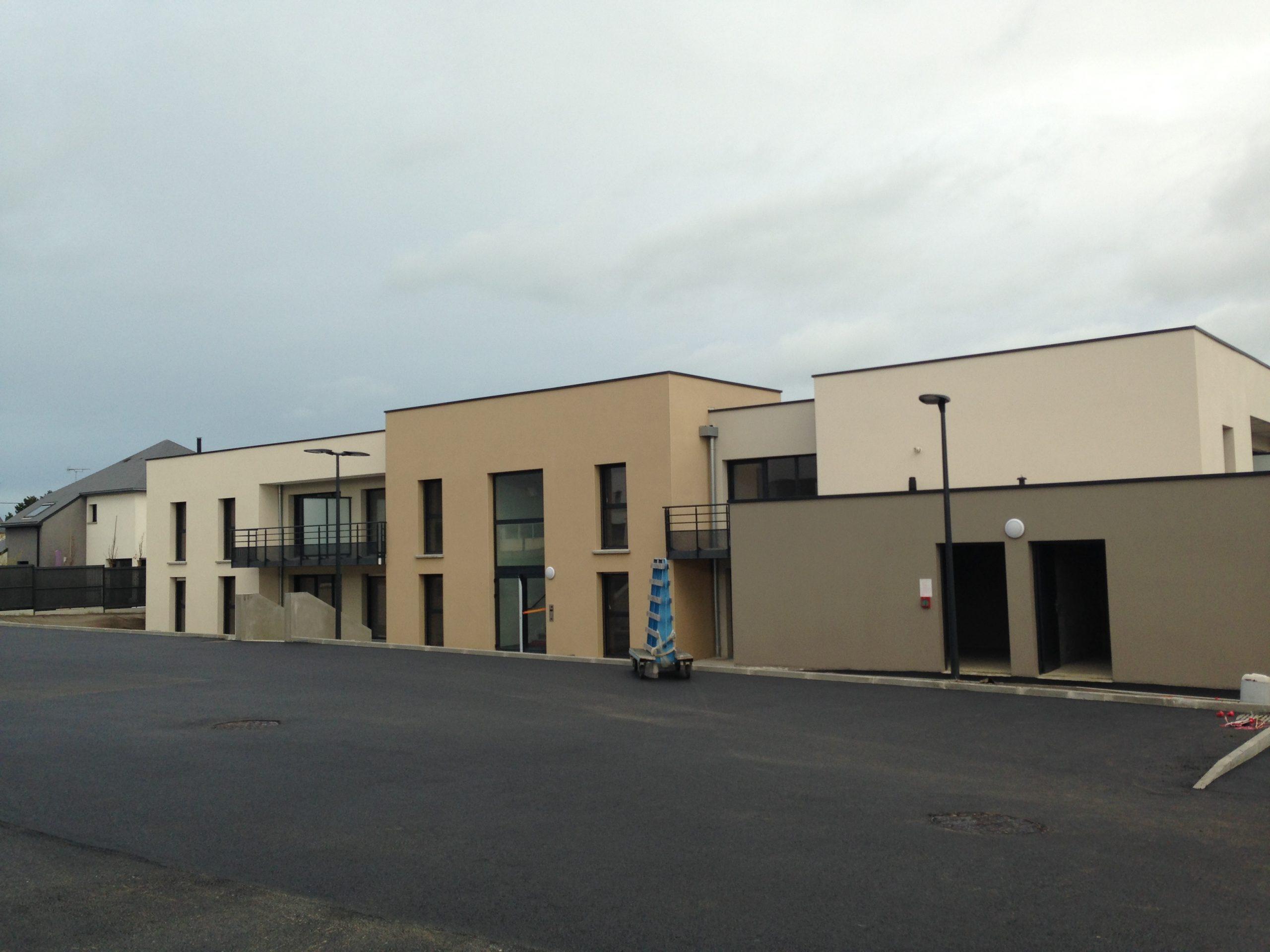 "Construction de 31 logements à Plérin "" Les Terres Blanches """