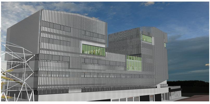 """Construction d'une Résidence Communautaire, bureaux & commerces à Rennes """" Mabella """""""