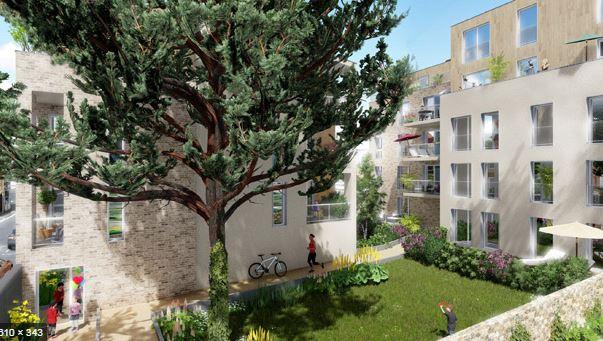 """Construction de 21 logements à Fontenay-sous-Bois """" le Cèdre """""""