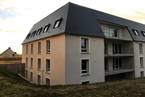 """Construction de 30 Logements à St-Aubin-d'Aubigné """"Huet"""""""