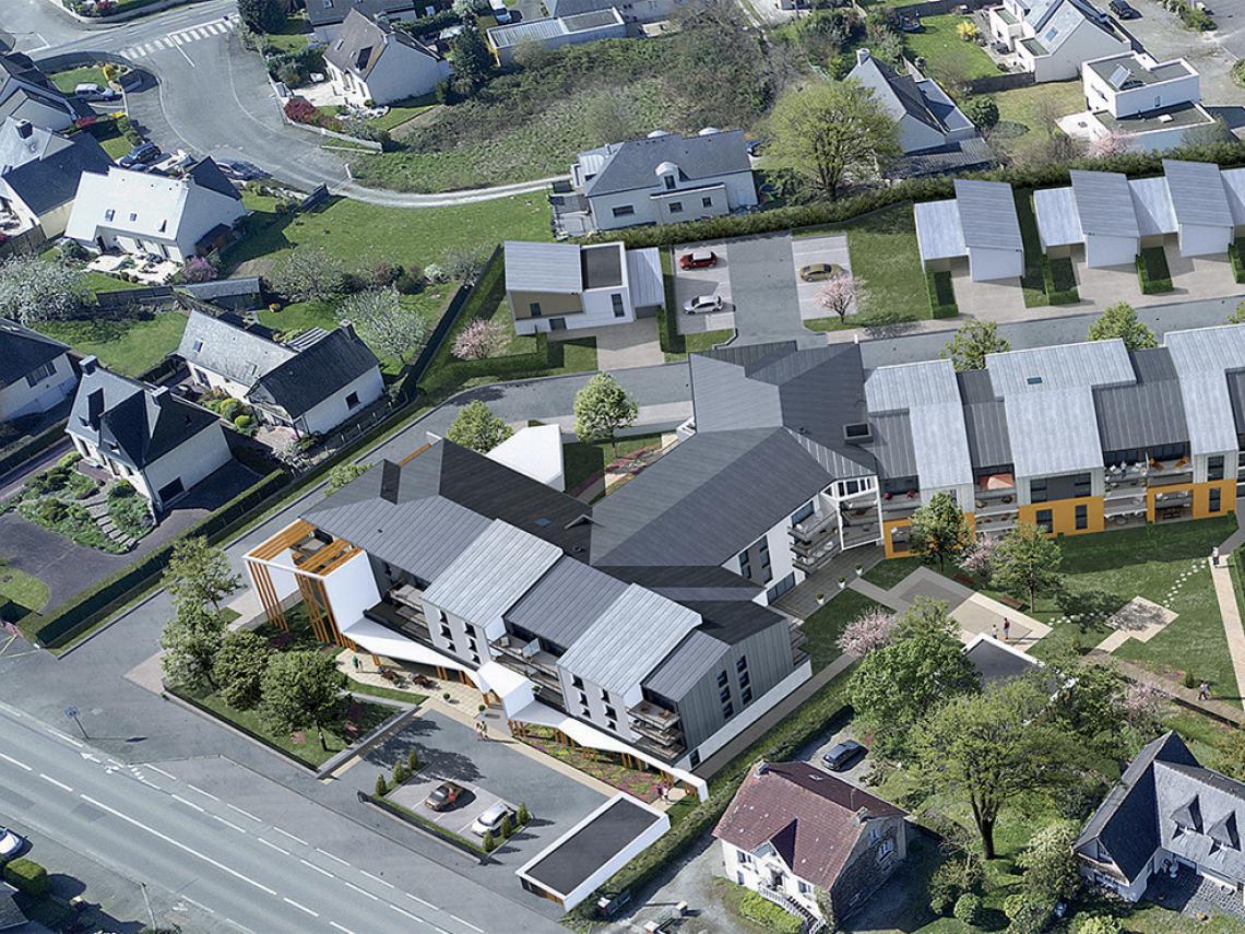 """Construction de la RPA """"Les Colombines"""" 117 logements à Thorigné-Fouillard"""