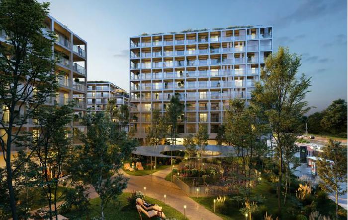"""Construction de 114 logements + 6 commerces à Rennes """" L'Esplanade """""""